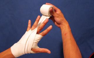 Как забинтовать палец на руке и ноге, правильная перевязка бинтом, как зафиксировать руку эластичной повязкой