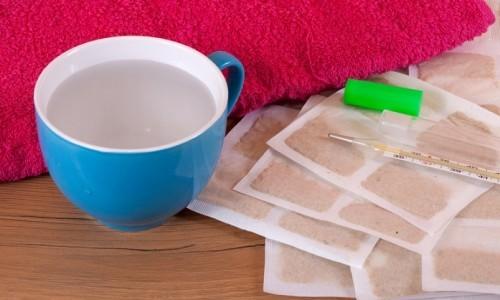 Горчичники при насморке — куда ставить взрослым и детям, сколько держать горчичники при кашле и заложенности носа на ногах