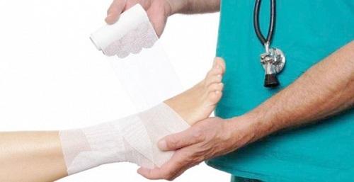 Что делать при вывихе ноги: первая помощь и методы вправления, лечение травмы