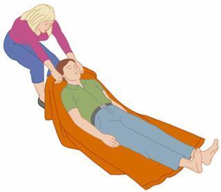 Что необходимо сделать перед началом транспортировки пострадавших и с какими травмами допускается перемещать волоком