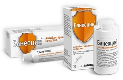 Банеоцин при ожогах кипятком, можно ли использовать мазь и порошок при солнечном ожоге у ребенка и как применять