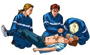 Первая помощь при поражении электрическим током, оказание неотложной медицинской помощи при электротравме