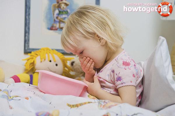 Как остановить рвоту у ребенка — противорвотное средство для детей