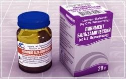 Мазь Вишневского на открытую рану: можно ли наносить линимент бальзамический на открытую гнойную рану, аналоги мази