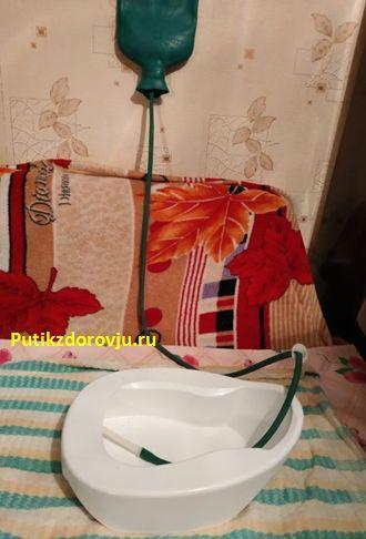 Клизма в домашних условиях самому себе грушей или с помощью кружки Эсмарха